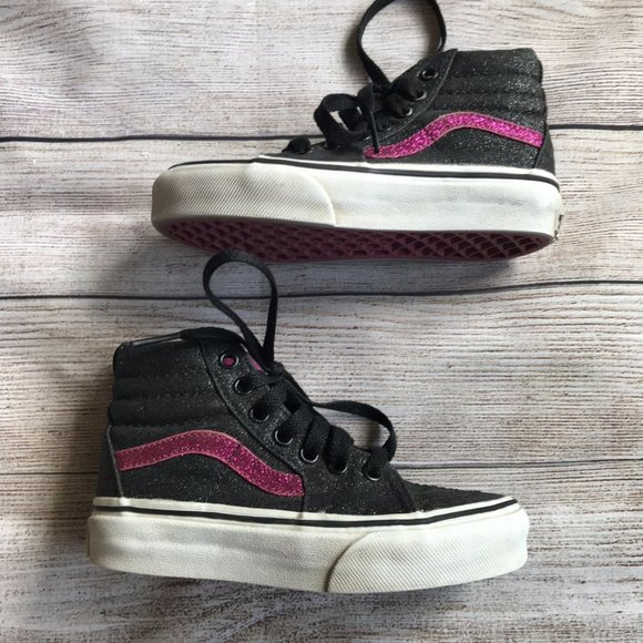 Glitter With Pink Sneakers Size